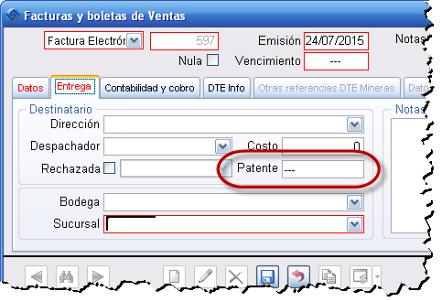 Patente Factura