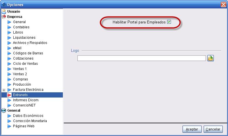 Portal Empleados Laudus