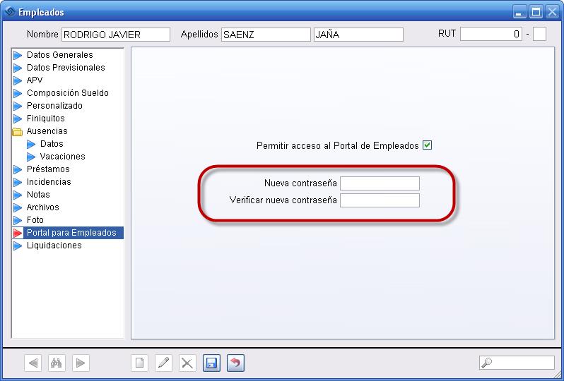 Portal Empleados Clave