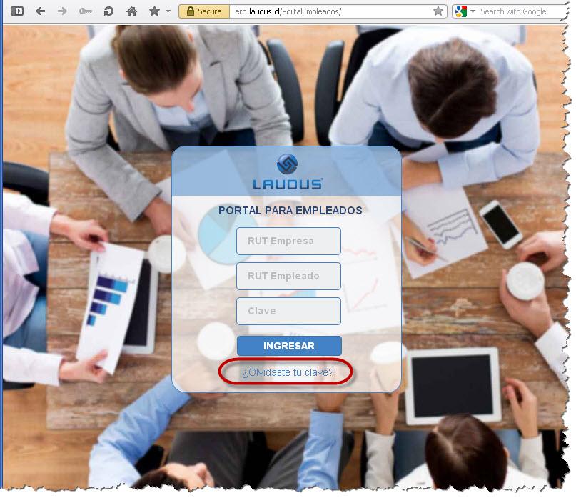 Portal Empleados Clave Web