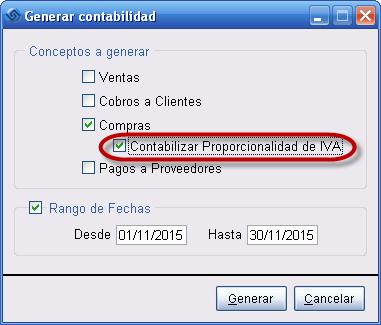 Centralizacion Proporcionalidad IVA