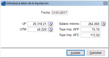 topes imponibles 2017 el blog de laudus erp