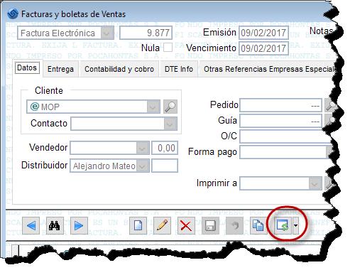 Enviar DTE SII Software Facturación Electrónica